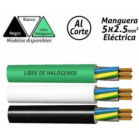 Manguera eléctrica 5x2.5mm2 -Disponible en varias versiones