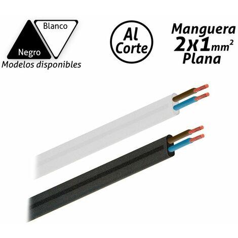 Manguera eléctrica plana 2x1mm2 -Disponible en varias versiones