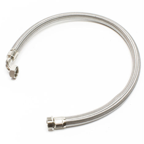 Manguera flexible de acero para agua de 1 metro y 1 pulgada para uso doméstico