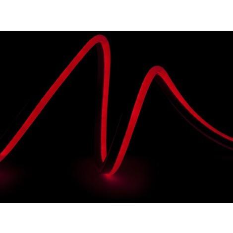 Manguera LED Neon Flex 80 LEDs/M 8W/M 24VDC IP66 CR-NEON80-24-R x 1M | Rojo (CR-NEON80-24-R)