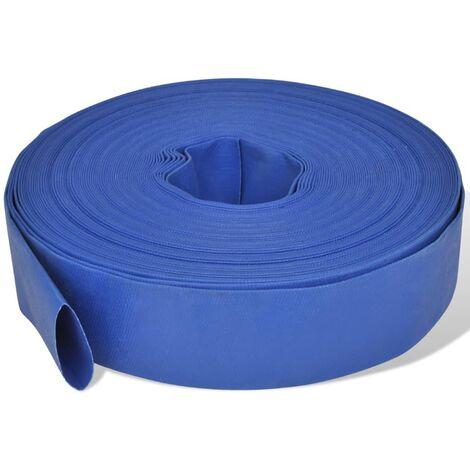 """Manguera plana de agua 50 m 2"""" PVC"""