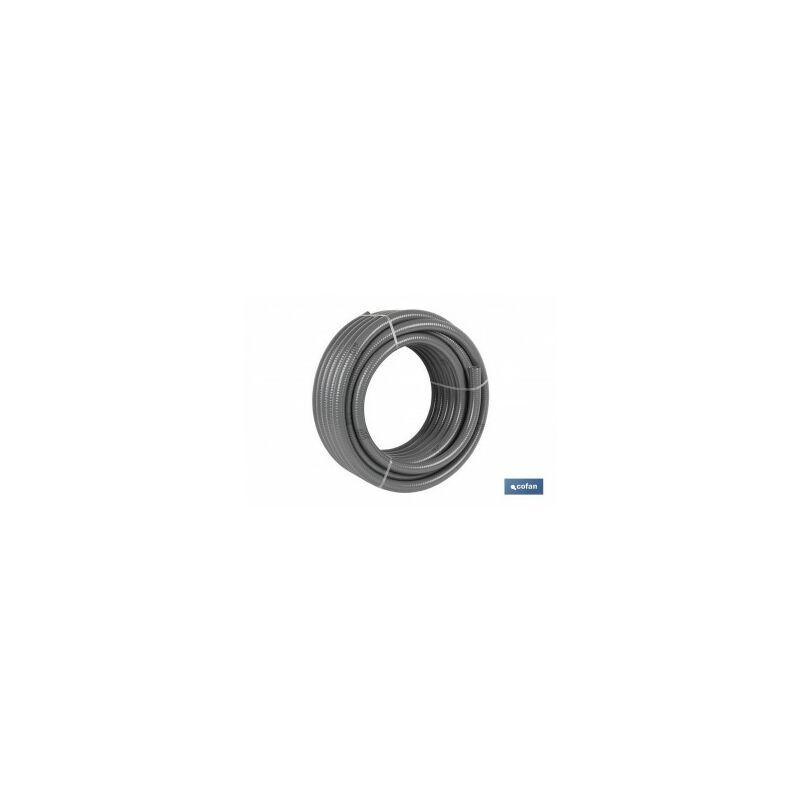 Rollo tubería hidro gris certificada Ø20mm 25m