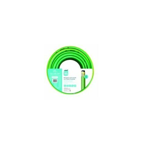 Manguera Riego 25Mt-15Mm 4C Verde Perfect Tricotada