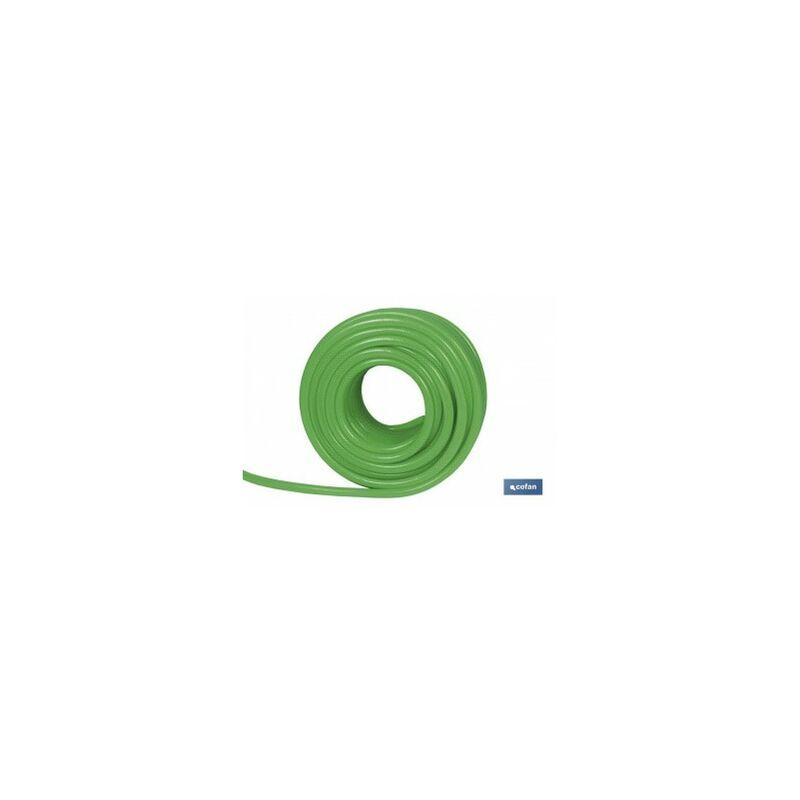 Manguera flexolátex verde transl15mm 58 50m
