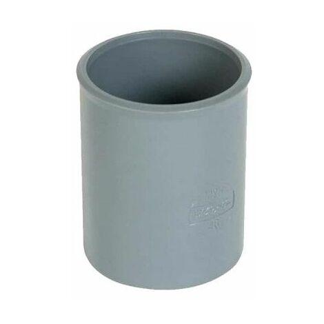 Manguito de PVC - Diámetro 40 - hembra-hembra - a pegar - 20332 A