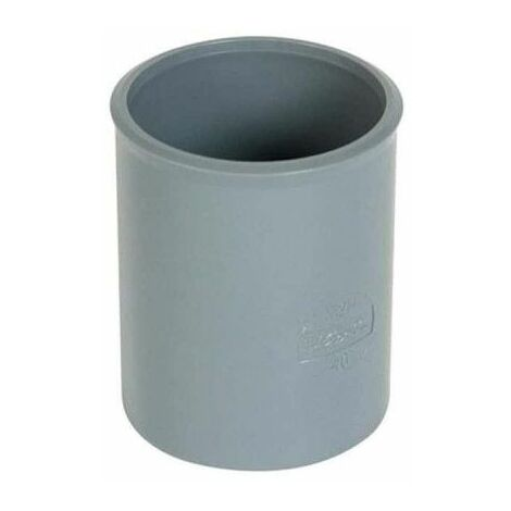 Manguito de PVC - Diámetro 75 - hembra-hembra - para pegar - 24801 H