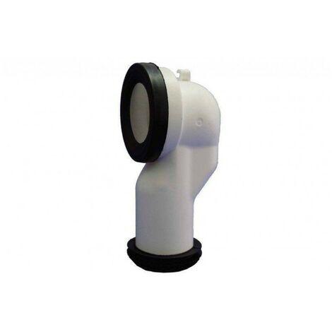 Manguito evac inodoro 150mm pared comp. dual pp t-117 hidrot