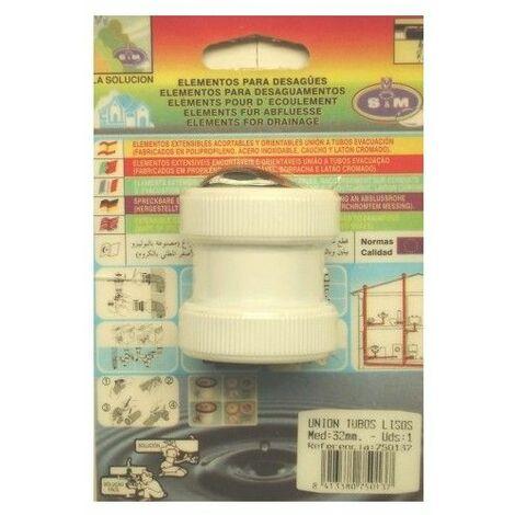 MANGUITO EVAC TUBO LISO 32MM PVC S&M