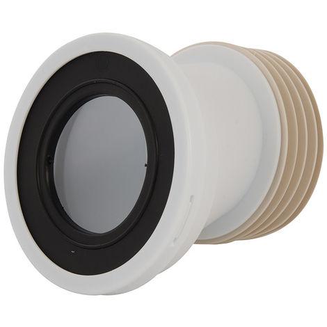 Manguito inodoro excéntrico, 110 mm Ajustable 20 mm - NEOFERR