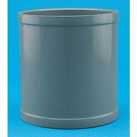 MANGUITO UNION HEMBRA-HEMBRA PVC 75 MM