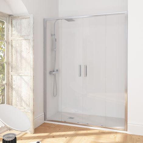 "main image of ""Puerta de ducha corredera de una puerta Manhattan"""