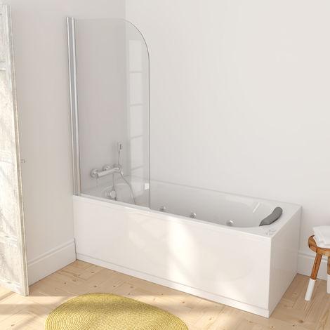 Manhattan Mampara de ducha para bañera 140x75