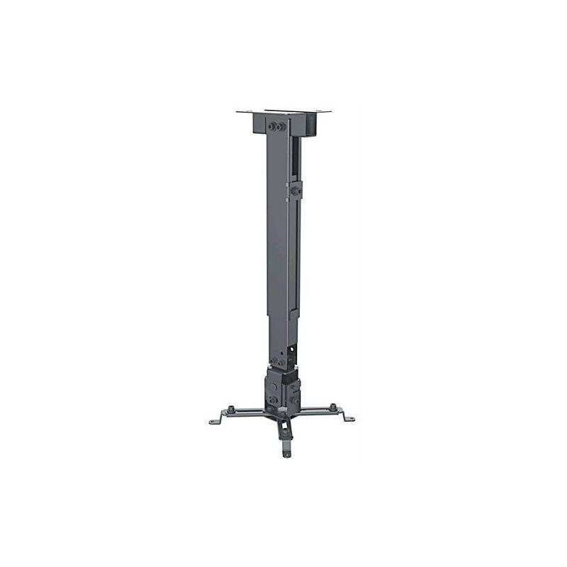 Staffa Universale a Parete-Soffitto per Proiettori Estensione 43-65 cm - Manhattan