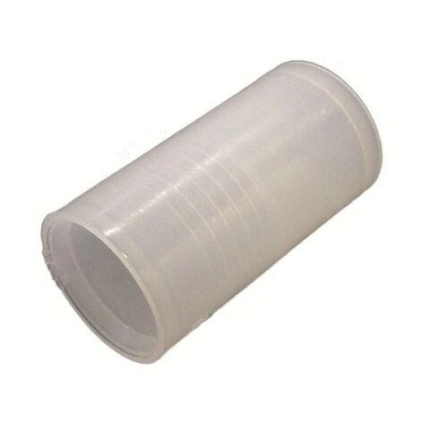 """main image of """"manicotto giunta tubo corrugato impianto elettrico 25 mm CE trasparente elc gflex25"""""""