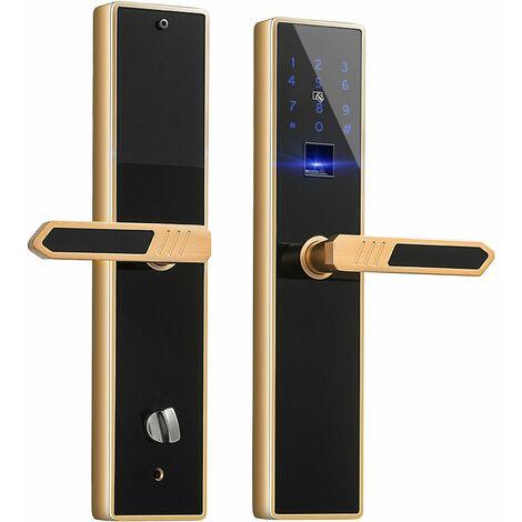 Maniglia Antifurto Di Sicurezza Smart Lock Digitale Doppio Sblocco 4 In1