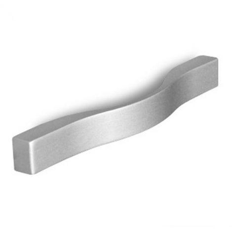 Maniglia Bow Cucina effetto alluminio 200 x 22 mm in Pvc