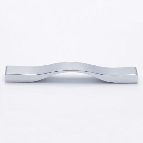 Maniglia Bow per mobili Cucina cromato lucido 200 x 22 mm in Pvc