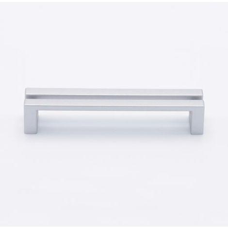 Maniglia Cucina per mobili effetto alluminio larghezza 140 mm PVC