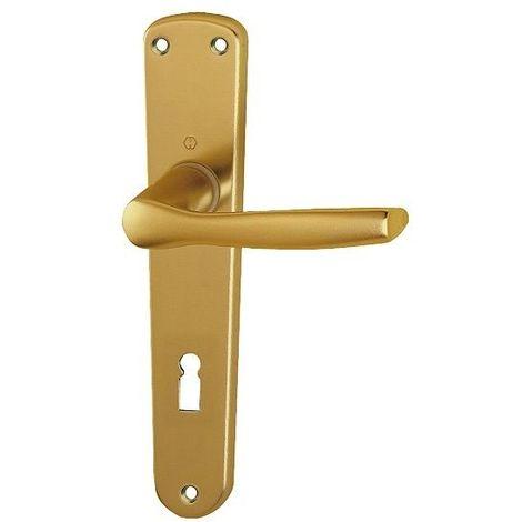 Maniglia in alluminio bronzo per porte interne hoppe mod milano foro ...