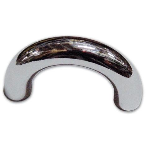Maniglia Maniglietta per Mobili in Zama 32 mm colore Cromo satinato Art 1121 - 2pz
