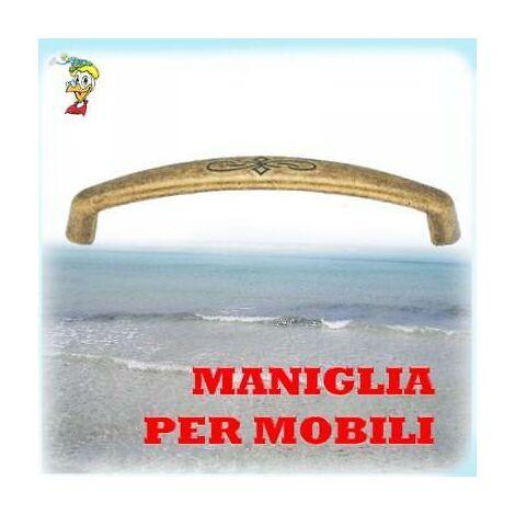 Maniglia Per Mobili Antichizzata 15130