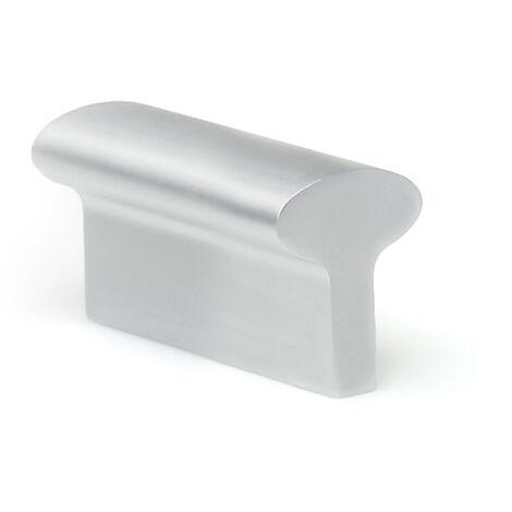 Maniglia stile contemporaneo , Alluminio, Anodizzato Opaco, 32mm interasse. Marchio REI