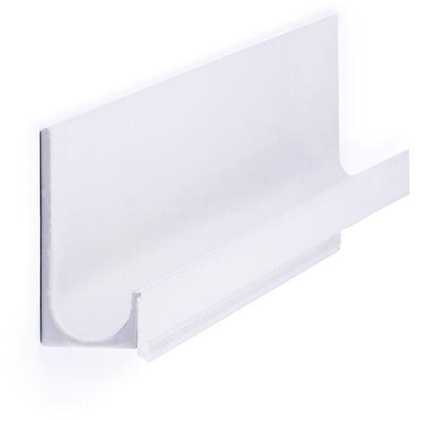 Maniglia stile contemporaneo, Alluminio, Bianco, 247 mm interasse. Marchio REI
