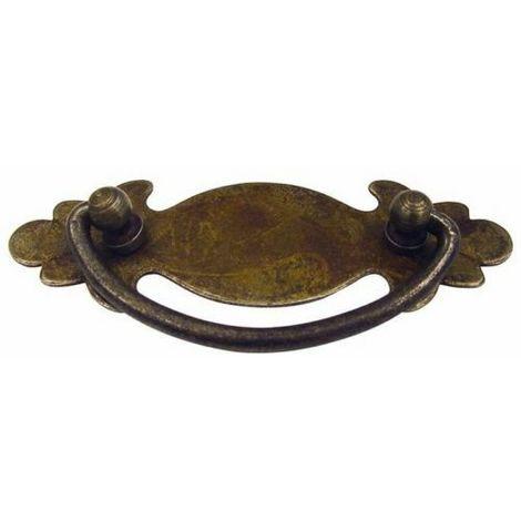 Maniglietta per mobili in ferro vecchio 06999