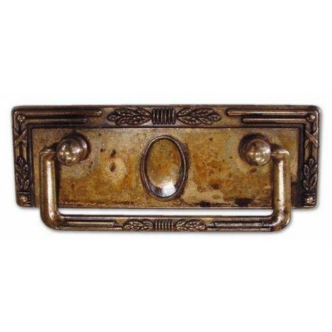 Maniglietta per mobili ottone antico 06060