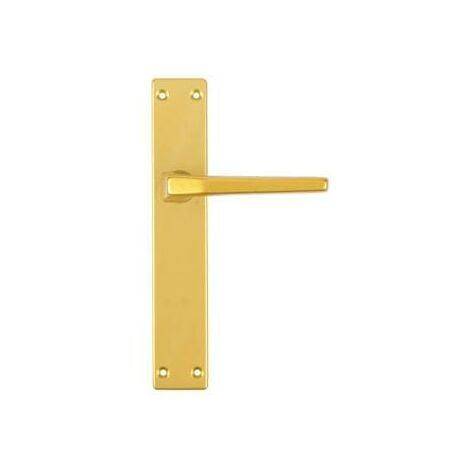 Manilla Aluminio Con Placa (Juego) Ghidini F3 Oro