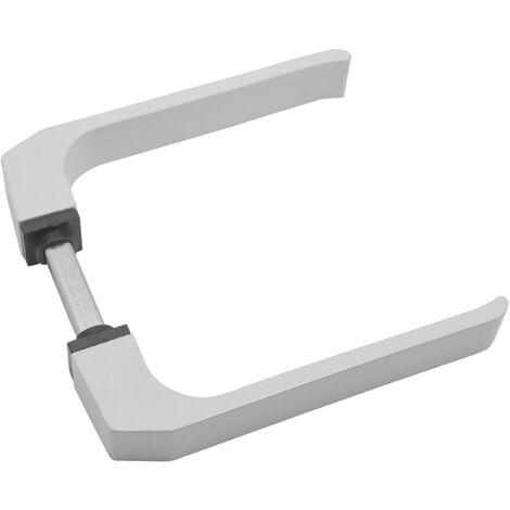Manivela Carpinteria Metalica Aluminio Blanco 702 Micel