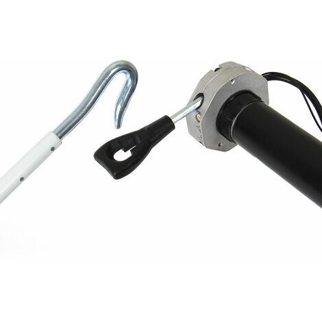Manivelle avec crochet 1000mm pour moteurs secours