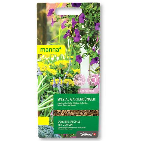 Manna Spezial engrais pour jardin 1 kg engrais universel, engrais pour fleurs, engrais pour légumes