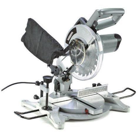 Mannesmann M12840 Scie à onglet radiale avec guide laser