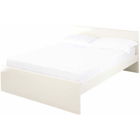 Manny 4.6 Double Bed Cream