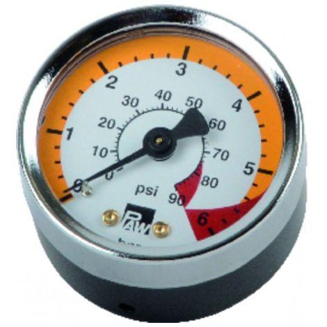 Manometer 0-6bar d.50mm - DE DIETRICH : 300028532