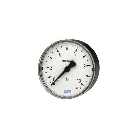 """Manometer 1//4/"""" Zoll Anschluss hinten axial Afriso 0-4 bar Wasser Luft Heizung"""