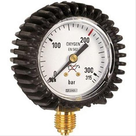 Manomètre acetylène pression 40 bars