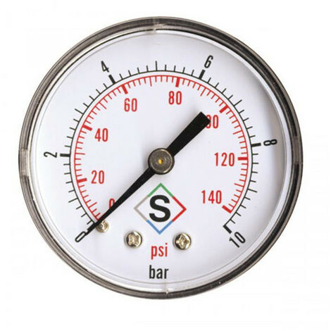 Manomètre axial pour chaudière - plusieurs modèles disponibles