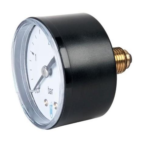 Manomètre axial sec 0 à 6b Ø50mm - DIFF
