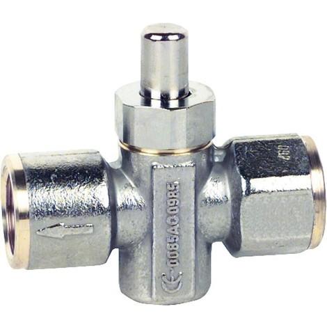 """Manometre bouton poussoir de robinet MDH 1/2"""" fem controle DIN DVGW et CE !!!!"""