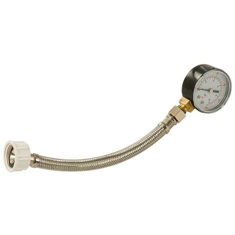 """Manomètre de contrôle de pression d'eau 3/4"""" BSP - 0 - 11 bar / 160 psi"""