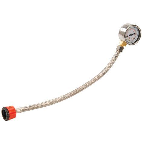 """Manomètre de contrôle de pression d'eau 3/4"""" BSP 0 - 11 bar / 160 psi"""