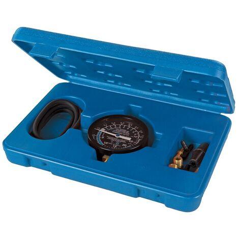 Manomètre de pression et de vide pour pompe à carburant - 0 - 10 psig / 0 - 25 inHg / 0 - 85 kPa