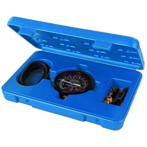 Manomètre de pression et de vide pour pompe à carburant 0 - 10 psig / 0 - 25 inHg
