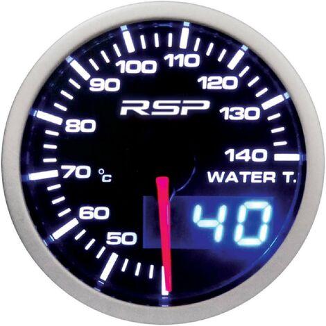 Manometre de temperature d eau a Led RSP - D.52mm
