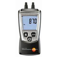 Manomètre économique pour pression gaz et tirage cheminée - Testo 510 - prix net