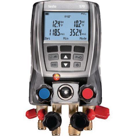 Manomètre froid électronique testo 570-2 Set 0563 5702 1 set