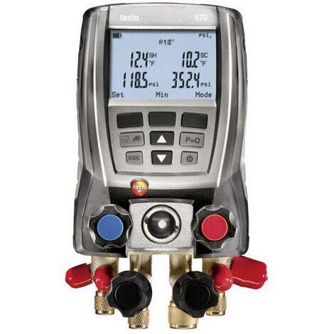 Manomètre froid électronique testo 570-2 Set 0563 5702 1 set Q79809