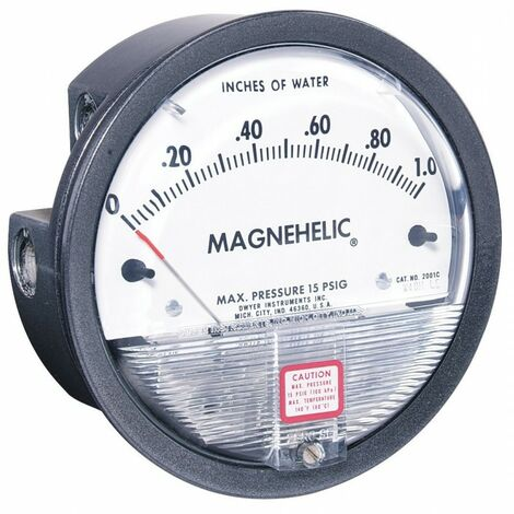 Manomètre Magnehelic 2000-20KPA